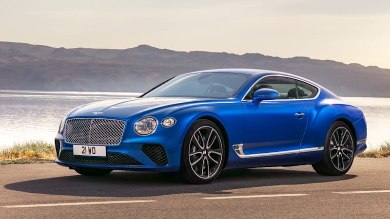 2019 Bentley Continental Gt Gets Stunning New Looks But Keeps Its W12 Engine Autoblog