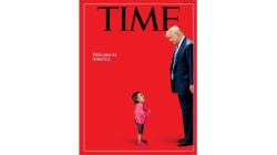 La Une du Time sur Trump et sa politique migratoire se passe de