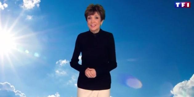 Les présentateurs météo rendent hommage à Catherine Laborde qui a présenté son dernier bulletin sur TF1