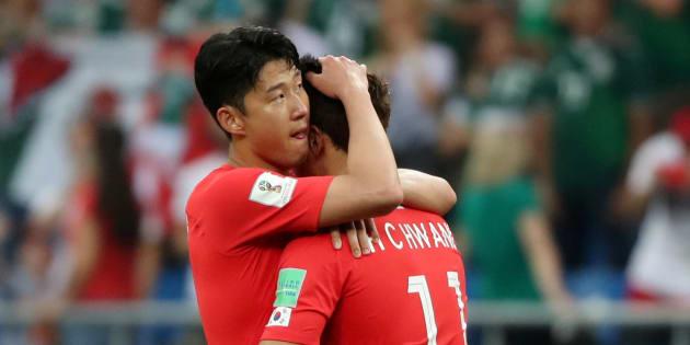 La selección de Corea del Sur queda sin posibilidades de clasificar a la siguiente fase.