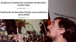 Exigen la salida de Marcelino Perello de la UNAM en