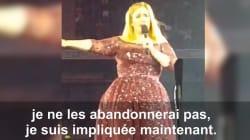 Adele appelle aux dons et dédie une chanson aux victimes de la Grenfell