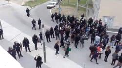 Les CRS interviennent à la fac de Nanterre pour déloger des