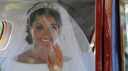 FOTOS: El vestido de novia de Meghan Markle a