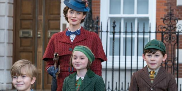 Emily Blunt incarne Mary Poppins dans cette suite du film de 1964.