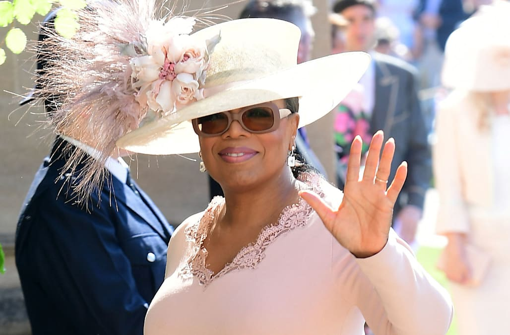 Celebrities At Royal Wedding.Royal Wedding Celebrities Step Out For Meghan And Harry Aol