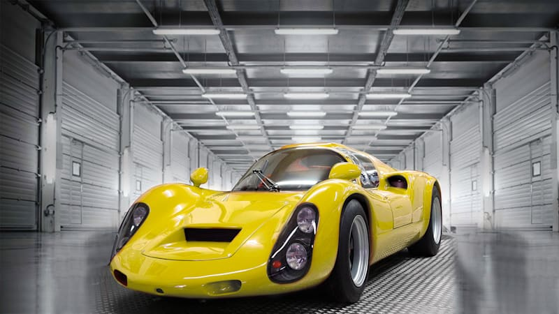 This '60s Porsche racer hides a fully electric powertrain