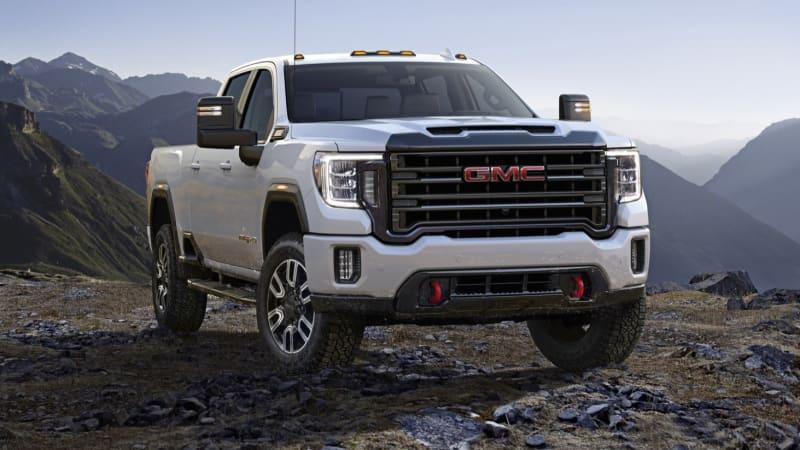 2020 GMC Sierra HD pickup truck revealed - Autoblog
