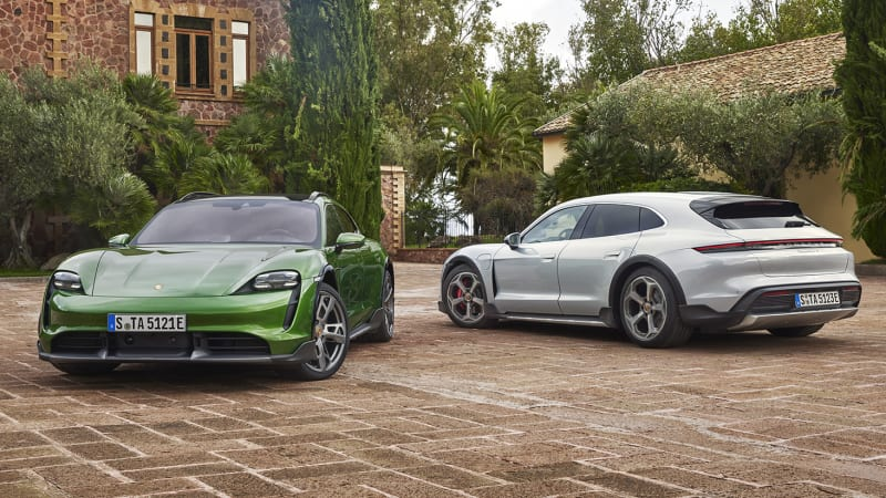 2021 Porsche Taycan Cross Turismo is all-electric, all-wheel drive, all-cool