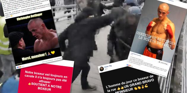 Christopher Dettinger, star des Facebook de gilets jaunes après ses coups sur des gendarmes