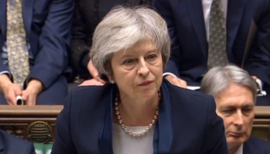 Theresa May sufre derrota masiva de 'brexit': Parlamento rechaza acuerdo con la