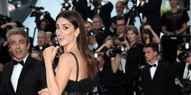 08/05/2018 71 Festival di Cannes. Red carpet della Cerimonia di apertura con il film Todos Lo Saben, nella foto Penelope Cruz