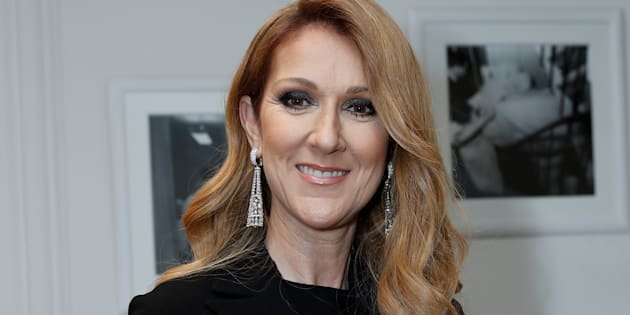 Watch Celine Dion dance in the stands at her son's hockey game