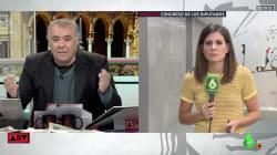 La frase de María Llapart al inesperado comentario de Ferreras en 'Al Rojo