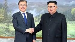 Rencontre surprise entre le président sud-coréen et Kim Jong
