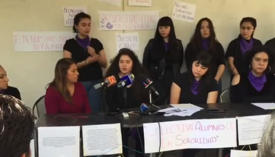 Denuncian estudiantes acoso sexual en la Universidad de