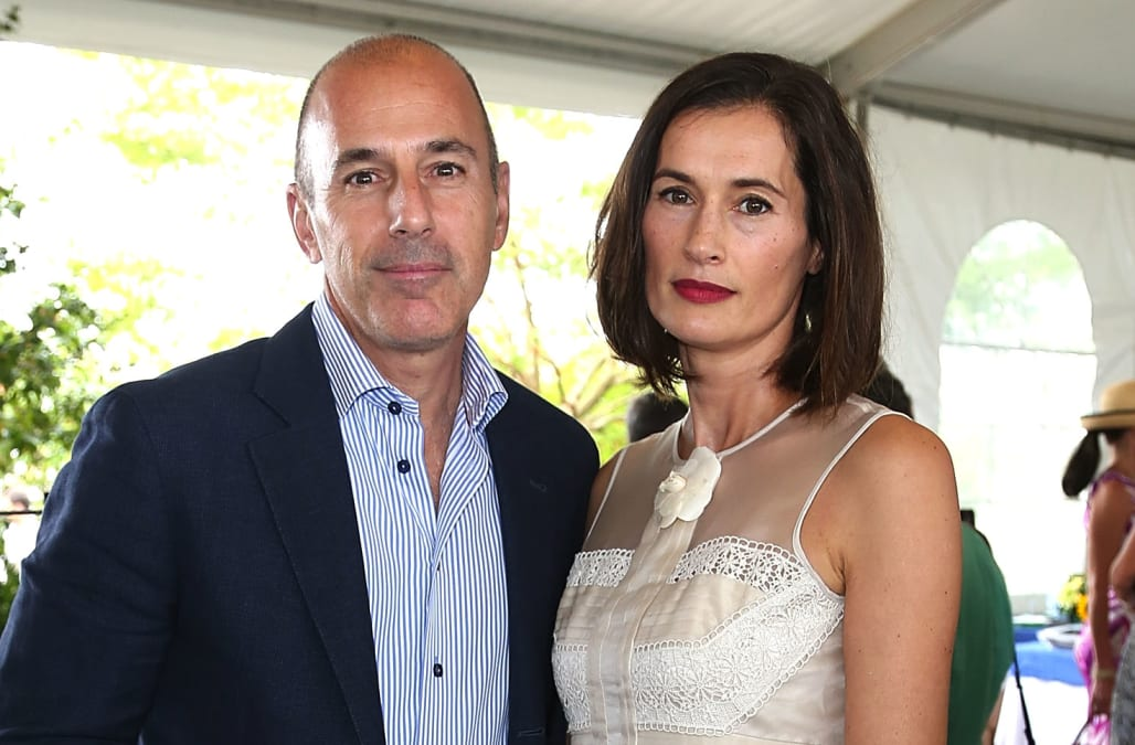 Matt Lauer In Bad Shape As Divorce From Annette Roque Moves Forward Exclusive
