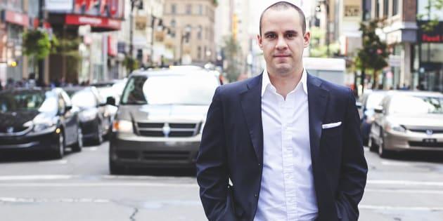 Jean-Nicolas Guillemette était à la tête d'Uber au Québec depuis 2013.