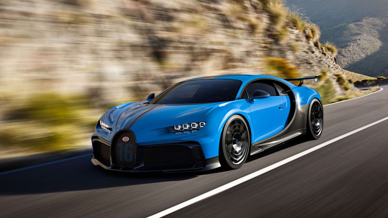 2021 Bugatti Chiron Pur Sport Announced With Improved Handling Autoblog