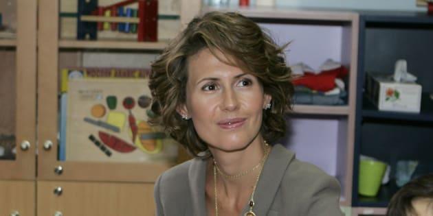 L'épouse du président syrien, Asma al-Assad, annonce être atteinte d'un cancer du sein