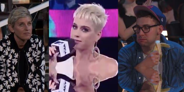 Katy Perry a fait flop sur flop avec ses blagues aux VMAs, et c'était très gênant