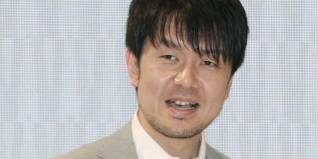 土田晃之さん(2013年2月14日撮影)