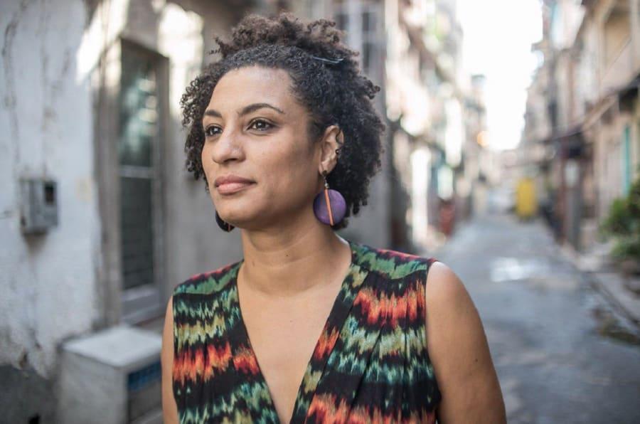 A vereadora Marielle Franco e o motorista Anderson Gomes foram mortos a tiros no dia 14 de março, no Rio.