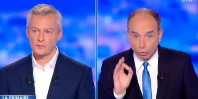 Débat de la primaire de la droite sur TF1: Mais pourquoi Jean-François Copé s'est-il mis à parler de cannabis?