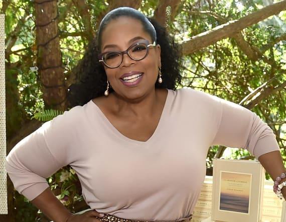 Oprah Winfrey shows off 40-pound weight loss