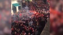 Les supporters de Cologne sèment la pagaille à Londres et aux abords du