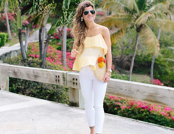 Street style tip of the day: Mellow yellow