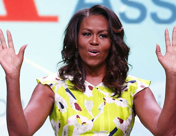 Michelle Obama goes to Beyoncé concert with Sasha