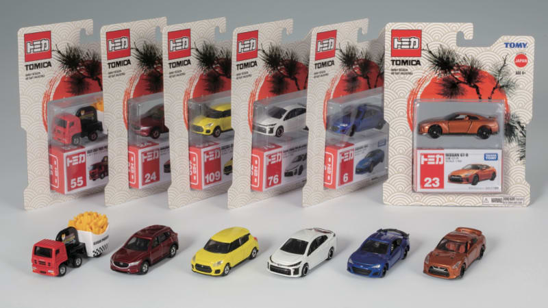 Japanese die-cast giant Tomica taps Walmart for U.S. launch