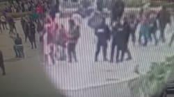 Les images de l'attaque filmées par une caméra de