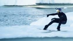 VIDEO: Así se hace wakeboarding en uno de los lugares más fríos del