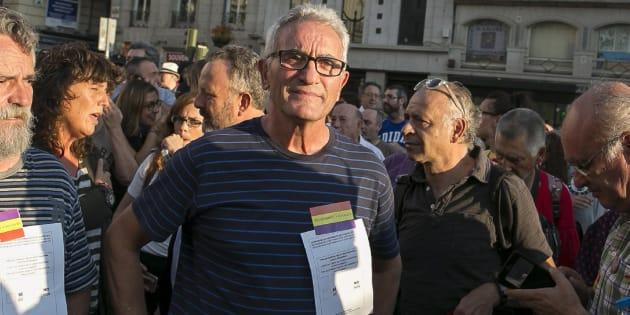 El diputado de Podemos Diego Cañamero.