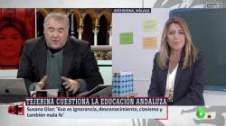 El detalle en su conexión con Ferreras que Susana Díaz no ha dejado al