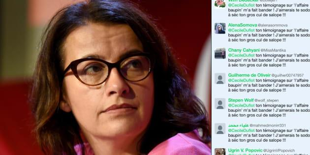 L'ancienne ministre Cécile Duflot a été visée par une campagne d'injures automatisée depuis son témoignage au procès intenté par Denis Baupin.