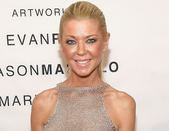 Tara Reid goes braless in totally see-through dress