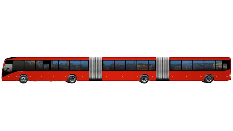 Volvo will sell the world's largest bus in Brazil | Autoblog