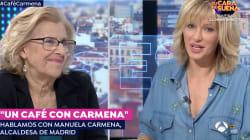 Carmena apoya a Guaidó frente a la