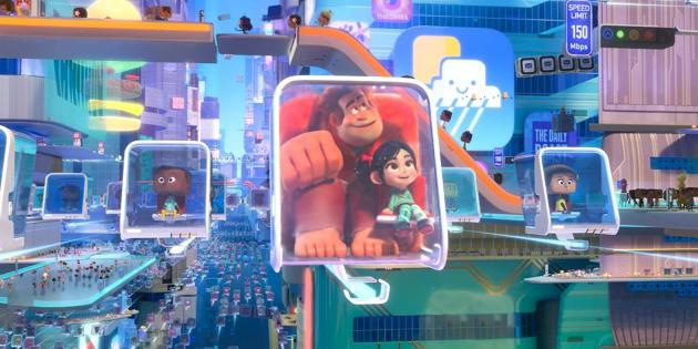 A nova aventura de Ralph e Vanellope discute a aceitação das diferenças levando esses personagens de games retrô para o interativo ambiente da internet.