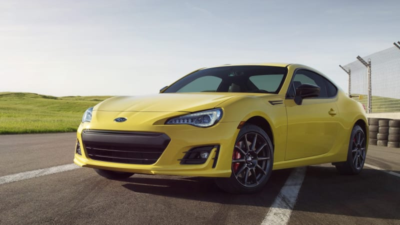 the 2017 subaru brz series yellow is wait for it yellow autoblog. Black Bedroom Furniture Sets. Home Design Ideas