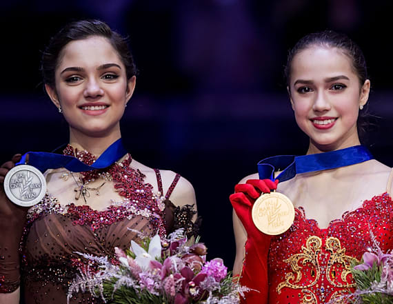 2 Russian skaters embroiled in great rivalry