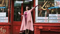 A transgressão feminina de 'The Marvelous Mrs. Maisel', nova série da criadora de 'Gilmore