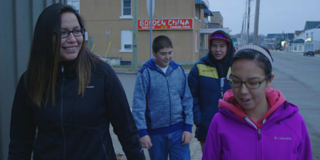 "Still from ""Some Stories...,"" a short film directed by Clayton Windatt with members of the North Bay Indigenous Friendship Centre."