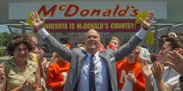 """Michael Keaton incarne Ray Kroc dans """"Le Fondateur"""" diffusé ce mercredi 7 février à 21h00 sur Canal+."""