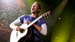 Coldplay souffle son enthousiasme sur le Centre