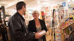 Revivez en images le lancement du nouveau roman de Brigitte