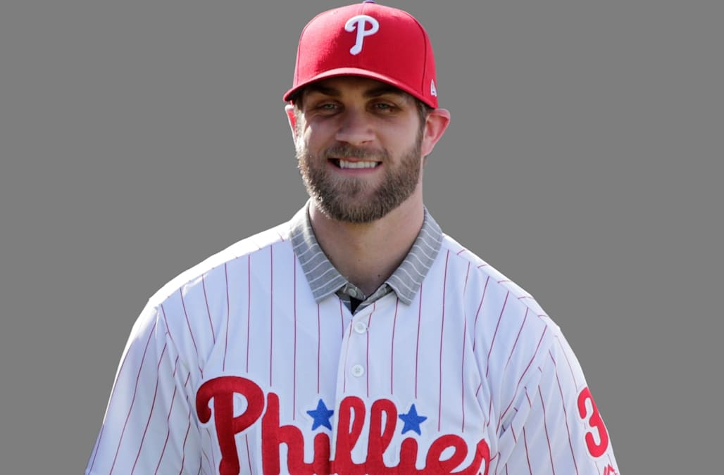 the latest f4ed7 3208a Bryce Harper's Phillies jersey sets 24-hour sales record ...
